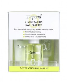 3-Step Action Nail Care Kit