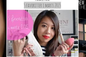 5 favoritter i marts 2015
