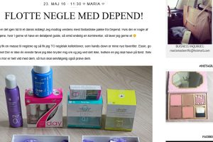 Beauty by Madsen - Flotte negle med Depend