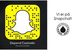 Vi er på Snapchat ...