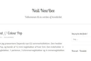 Nail New Bee - Depend Colour Pop