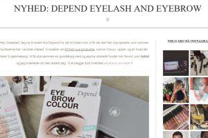 Depend Eyelash & Eyebrow - Hamsa Yassin
