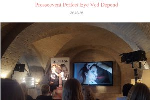 Skabsdiva - Presseevent Perfect Eye
