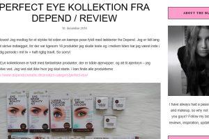 Beauty by Madsen: Perfect Eye kollektion review
