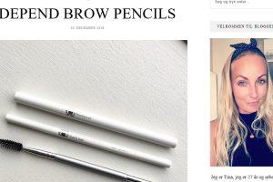 Tina Lang: Depend Brow Pencils