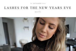 Fashion by Caroline: Lashes for the New Years Eve