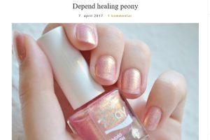 Hverdagsblush - Depend Healing Peony