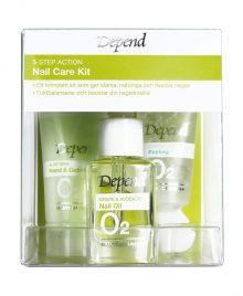 3-step action nail care kit